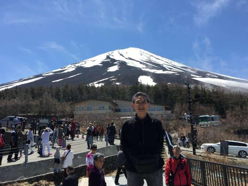 Mt. Fuji : At 5th stage