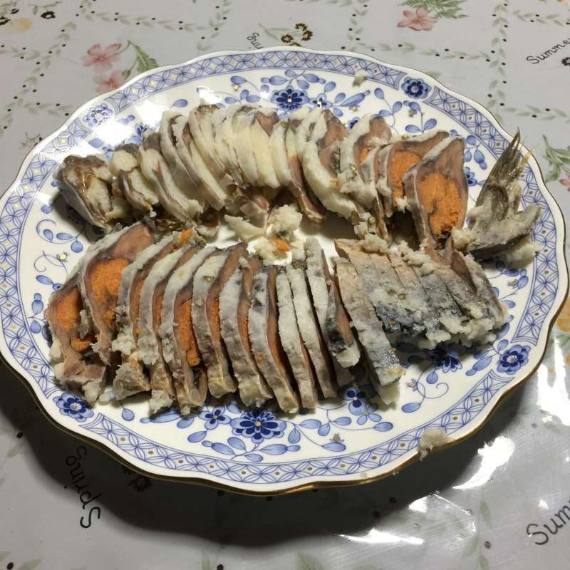 "[Feb.] Local Food ""Funa-zushi"" (鮒鮓), the Original of Japanese ""Sushi"" (Fermented Crucian Carp with Cooked Rice)"