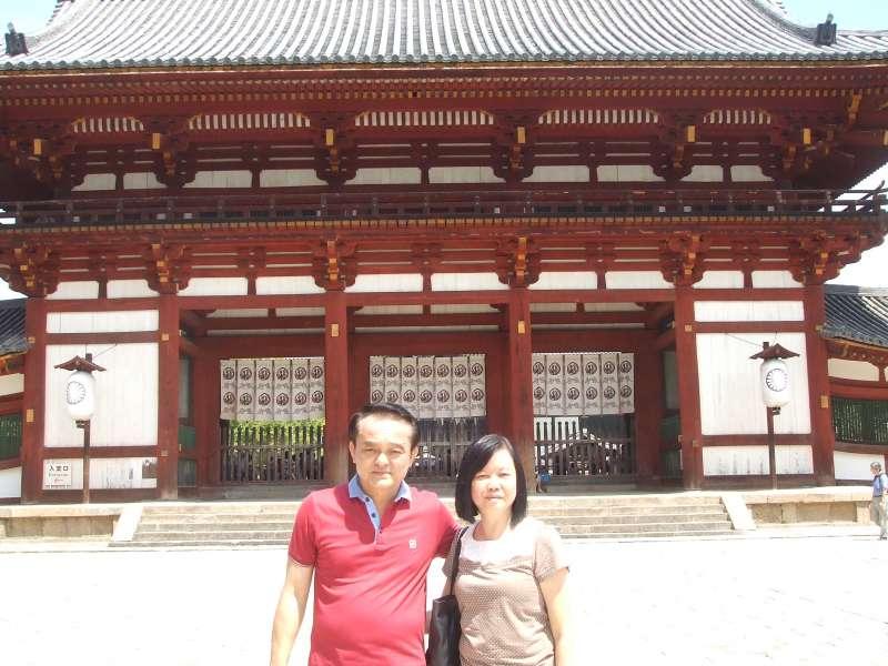 Daikodo Lecture Hall of Horyu-ji Temple, Nishino kyo, Nara