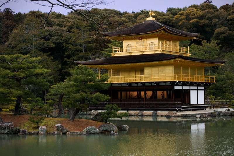Kinkakuji temple (Temple of golden pavillion)