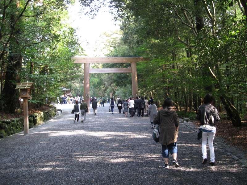 The Second Torii Gate in Geku