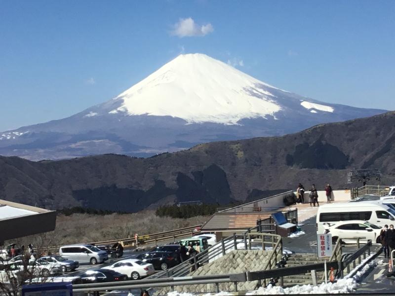 Mt.Fuji view from Owakudani area