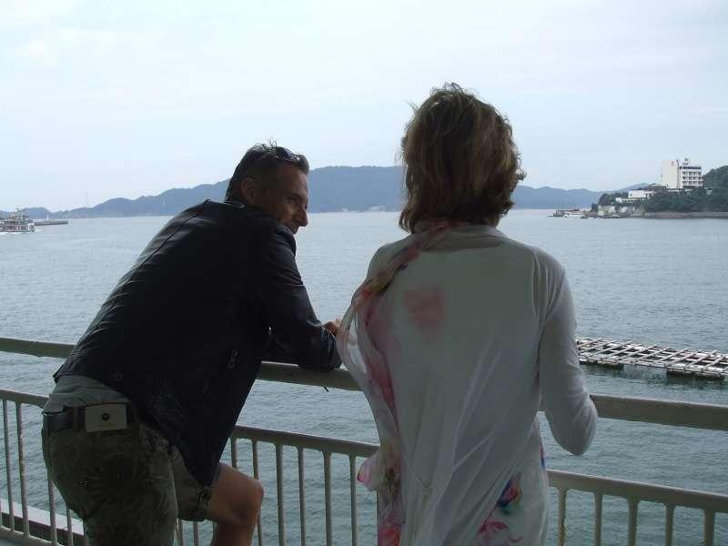 View deck at Mikimoto Pearl Island, Toba, Mie