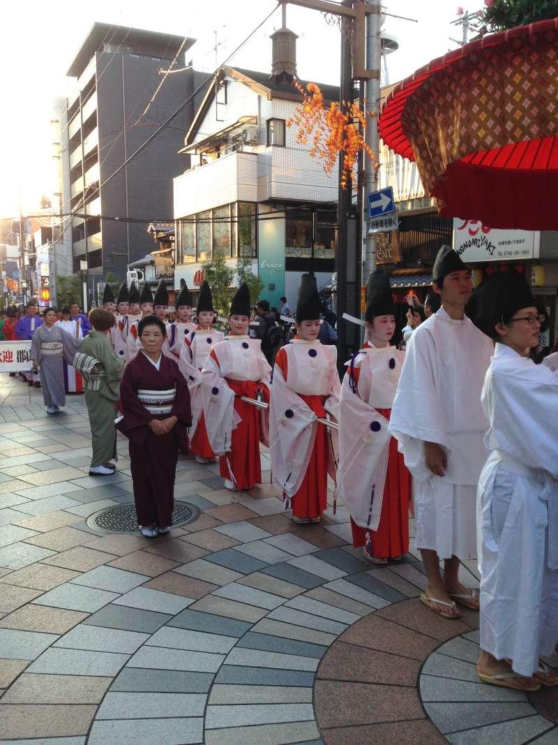Uneme-matsuri Festival in September or October