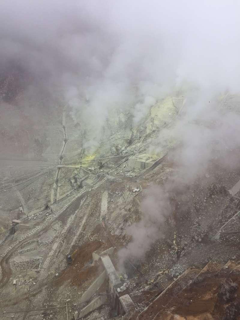 Active volcano of Owakudani