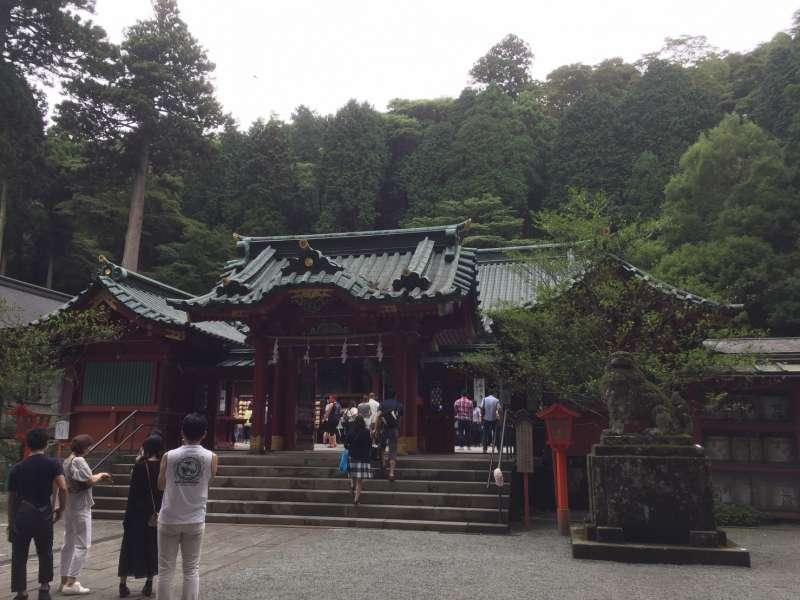 The main building of Hakone shrine