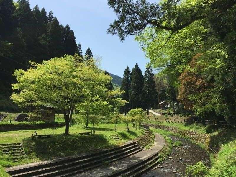 [May] Myori no Sato (妙理の里), a Camp Site