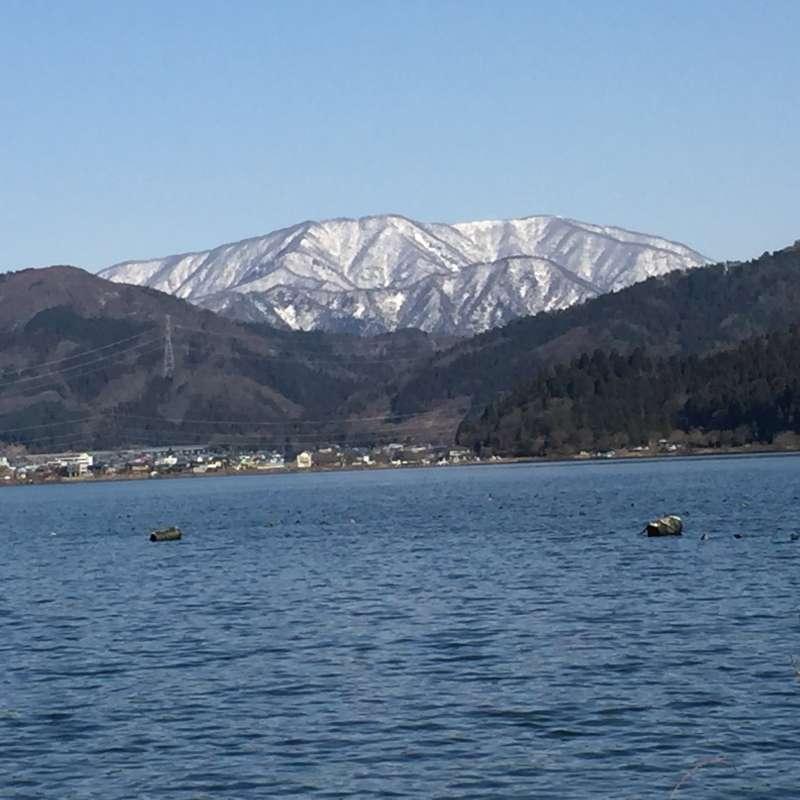 [Jan.] Lake Yogo on a Brisk Fine Day in Winter