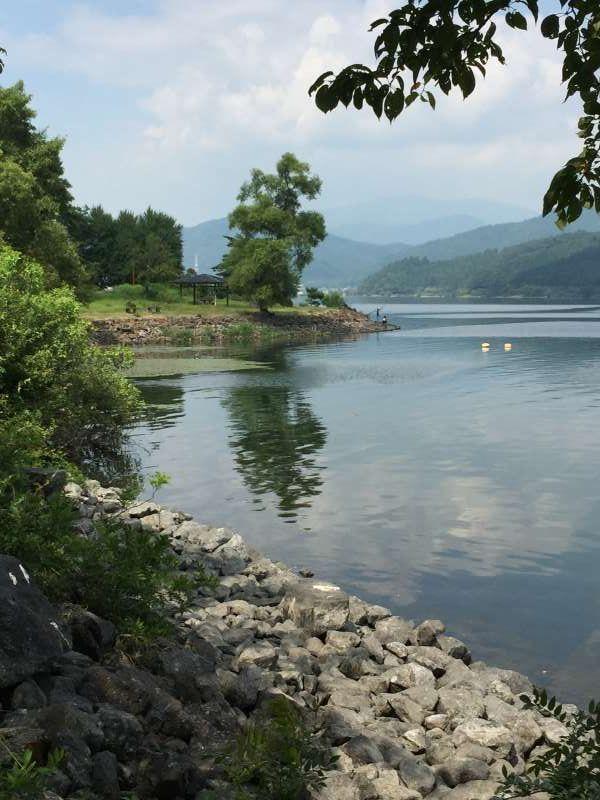 [Aug.] Lake Yogo in Idyllic Summer Day