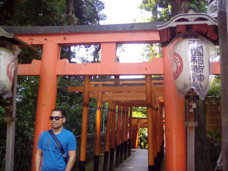 Hanazono Inari Shrine of Ueno Park