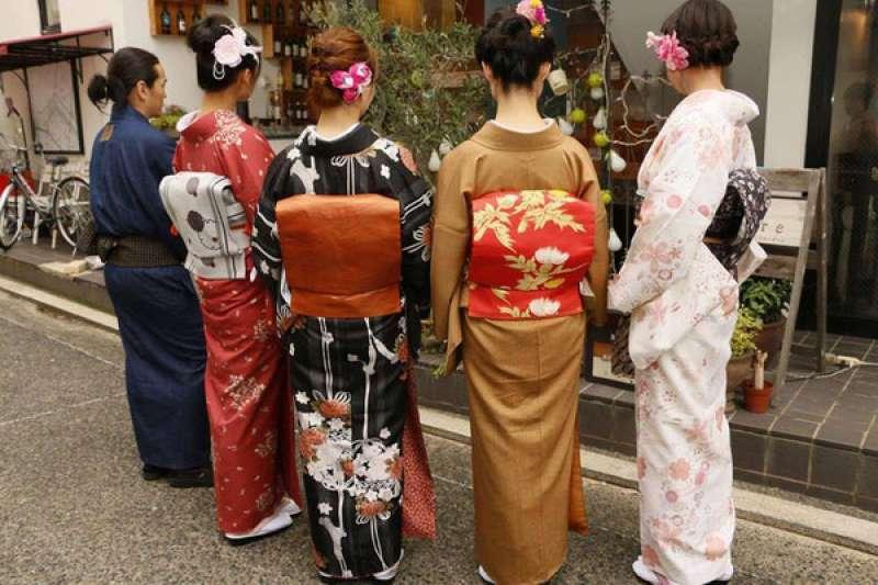 You can wear kimono if you want.