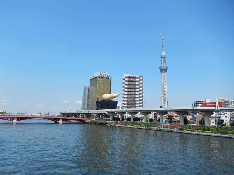 Sumida river cruise