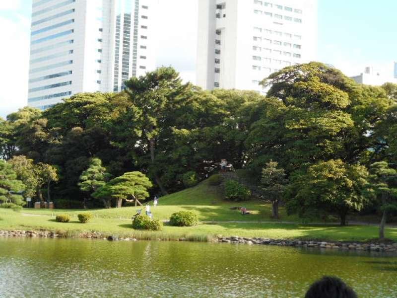 View from Nakajima no chaya Tea House