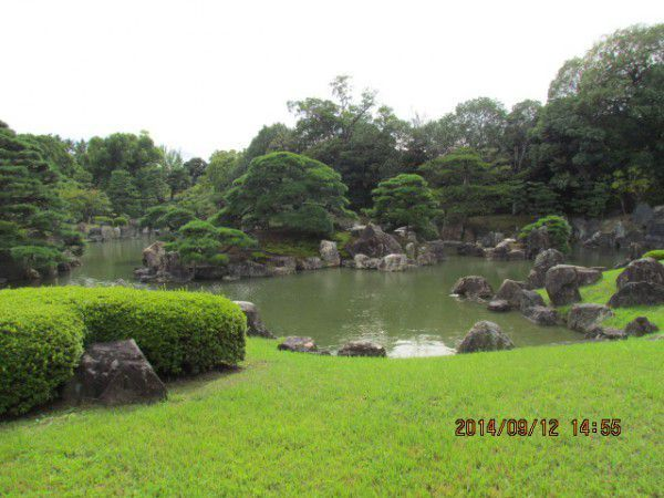 Nishinomaru Garden at Nijo Castle