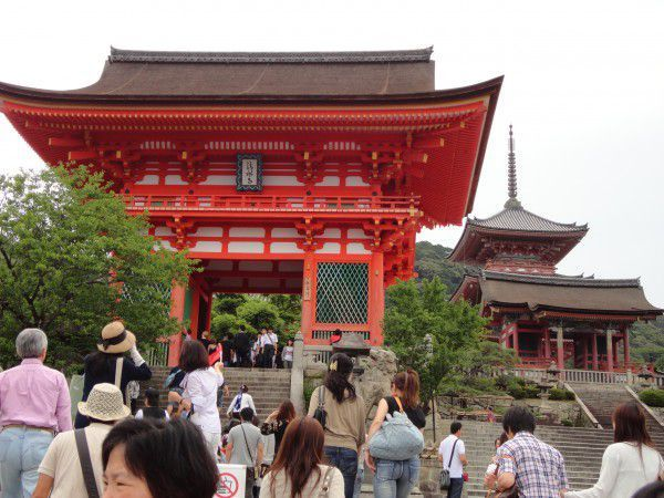 Nio-mon Gate at Kiyomizu Temple