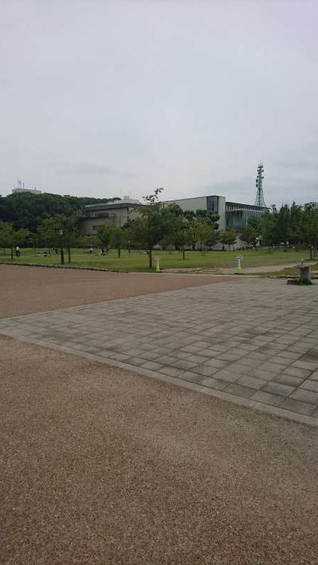 The third keep, where high ranking samurai used to live. Now it is Shiroyama Park.