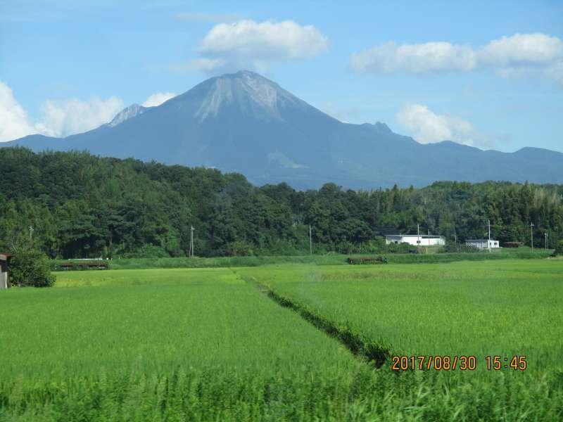 Mt.Daisen called Hoki Fuji