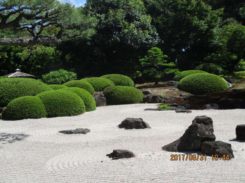 Dry landscapr garden in Yuushien