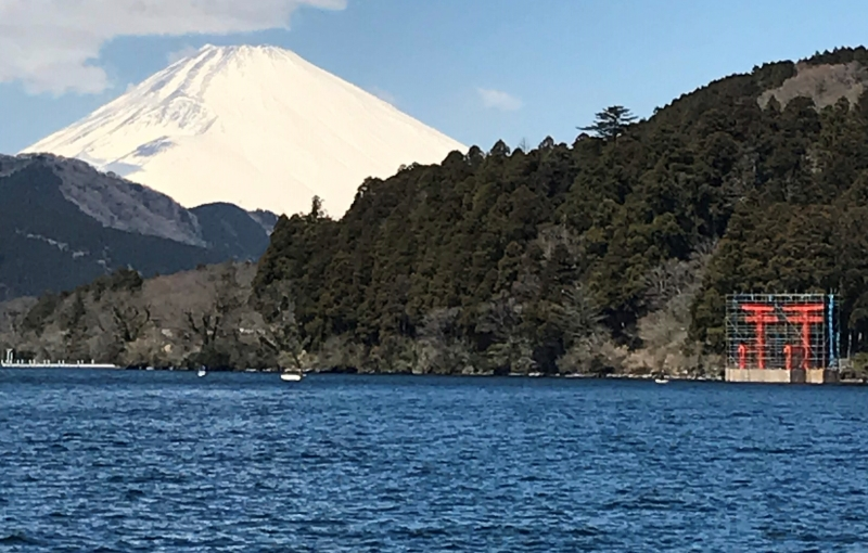 View from the Lake Ashi (Highlights #2, 03APR2019)
