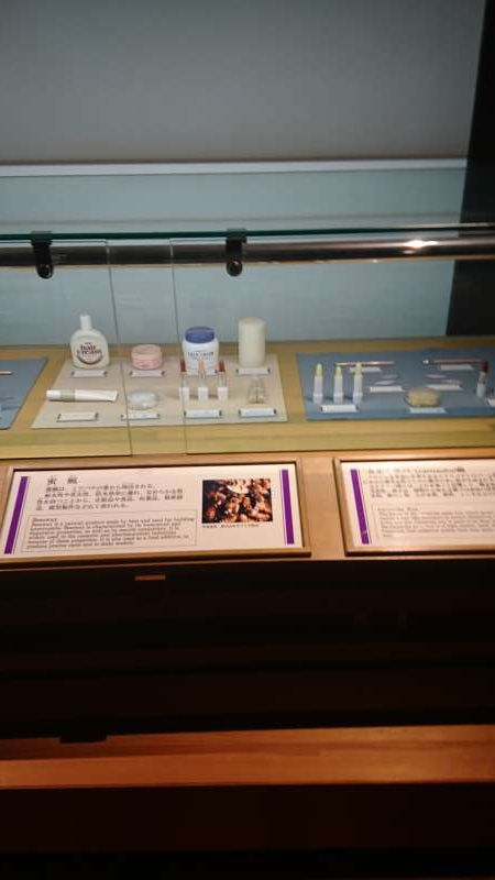 The white wax was used to make a variety of products, such as cosmetics.  Wax usage was not limited to candles or hair oil made from crude wax.