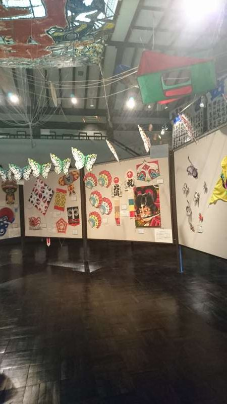 Kites from all over Japan and the world are exhibited.