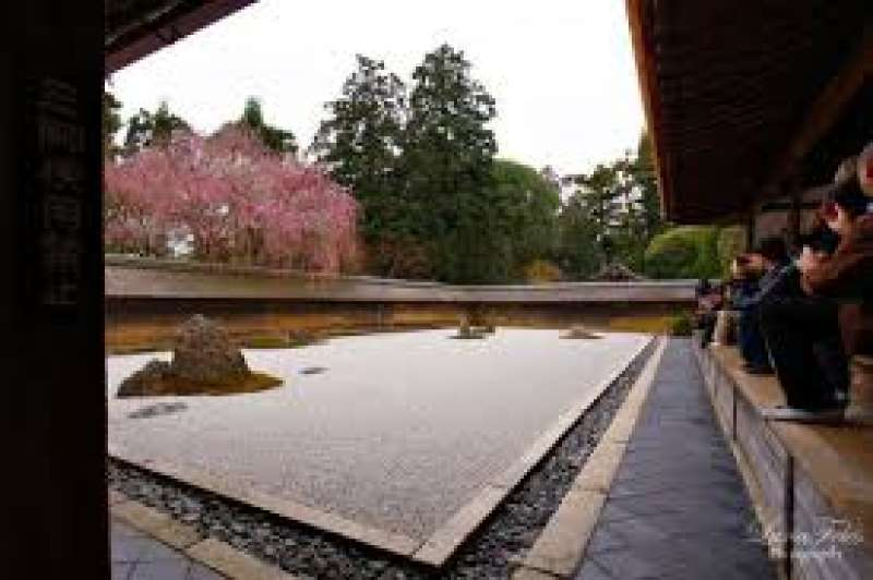 Feeling Zen world in temples of kyoto