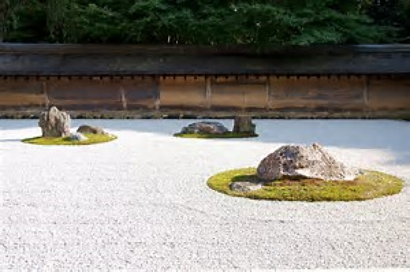 It is open to your imagination ( Ryoanji Temple )