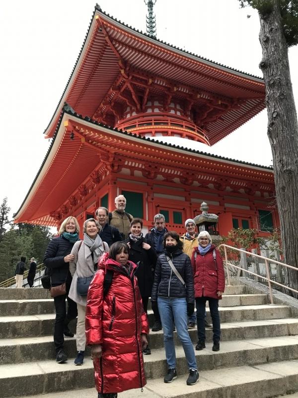Konpon Daito (Great Pagoda) , Koyasan, Wakayama
