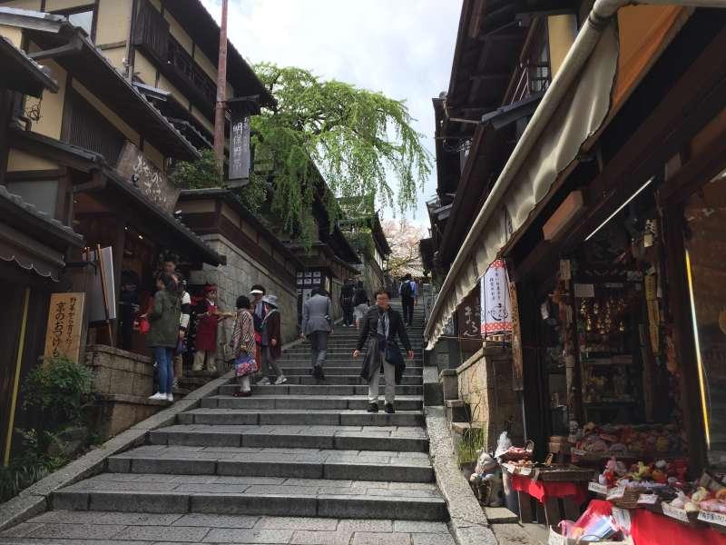 Old Street to Kiyomizudera Temple