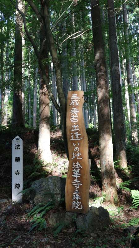 The Ruin of Hokkeji-temple (法華寺)