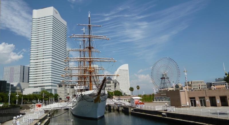 Minato Mirai area. Yokohama is only about 40 minutes from Tokyo.(#1)