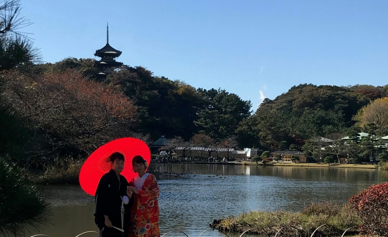 Sankeien  - Japanese garden with 17 old buildings of high historic value (#11)