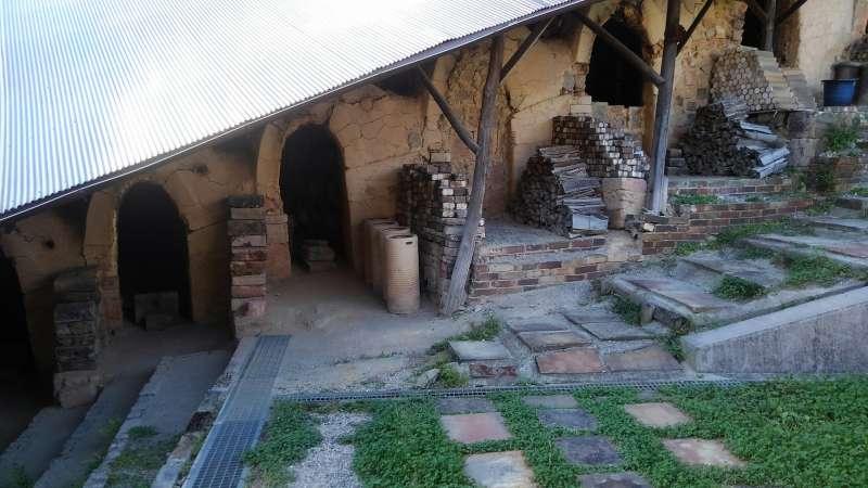 Aged-old climbing kilns