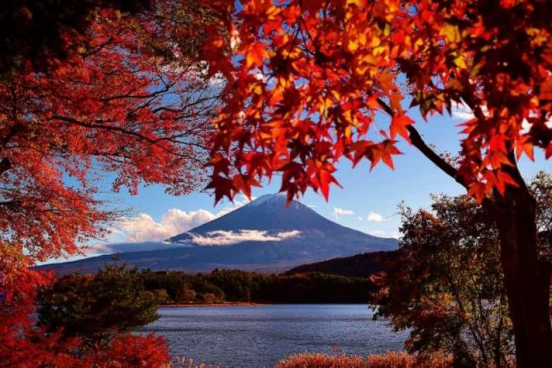 Mt. Fuji and Lake Kawaguchiko