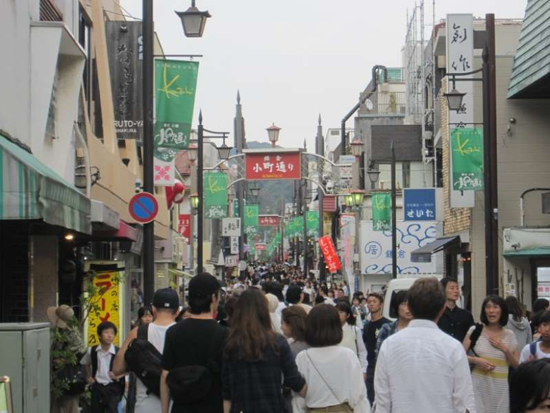 Komachi-dori: Shopping street. You can eat many kinds of Japanese food and buy good souvenirs.