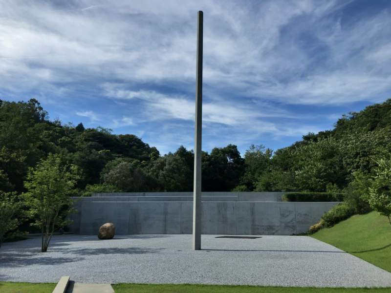 Lee Ufan Museum, designed by Tadao Ando