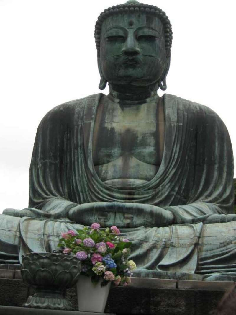 The Great Buddha is a must in Kamakura.