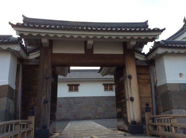 The east gate of Sumpu Castle