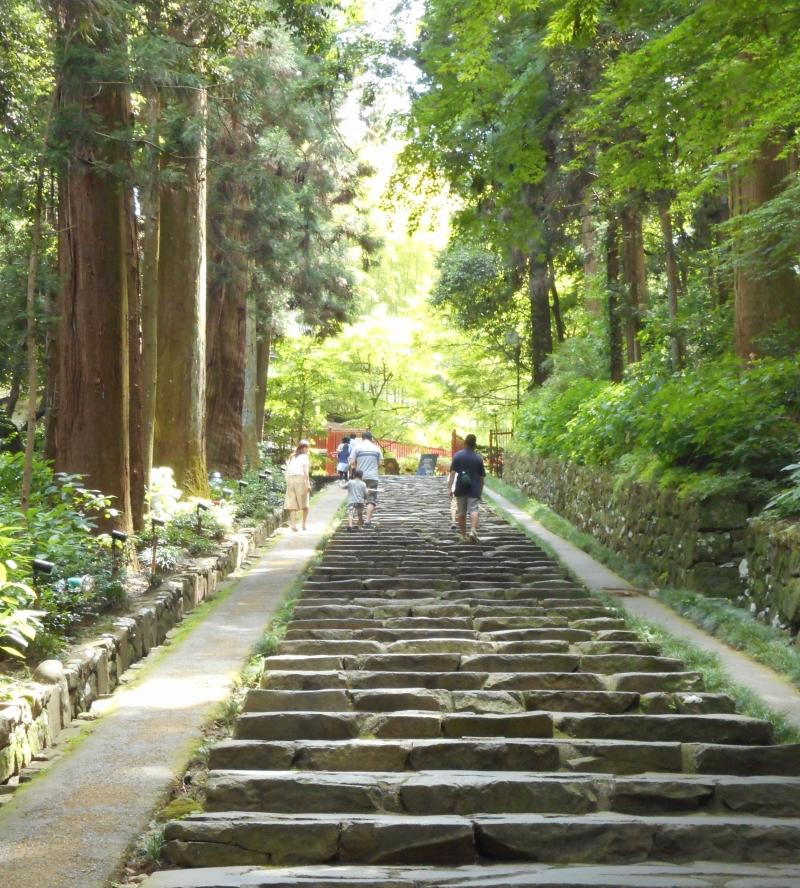 Path to Zuihoden Mausoleum.