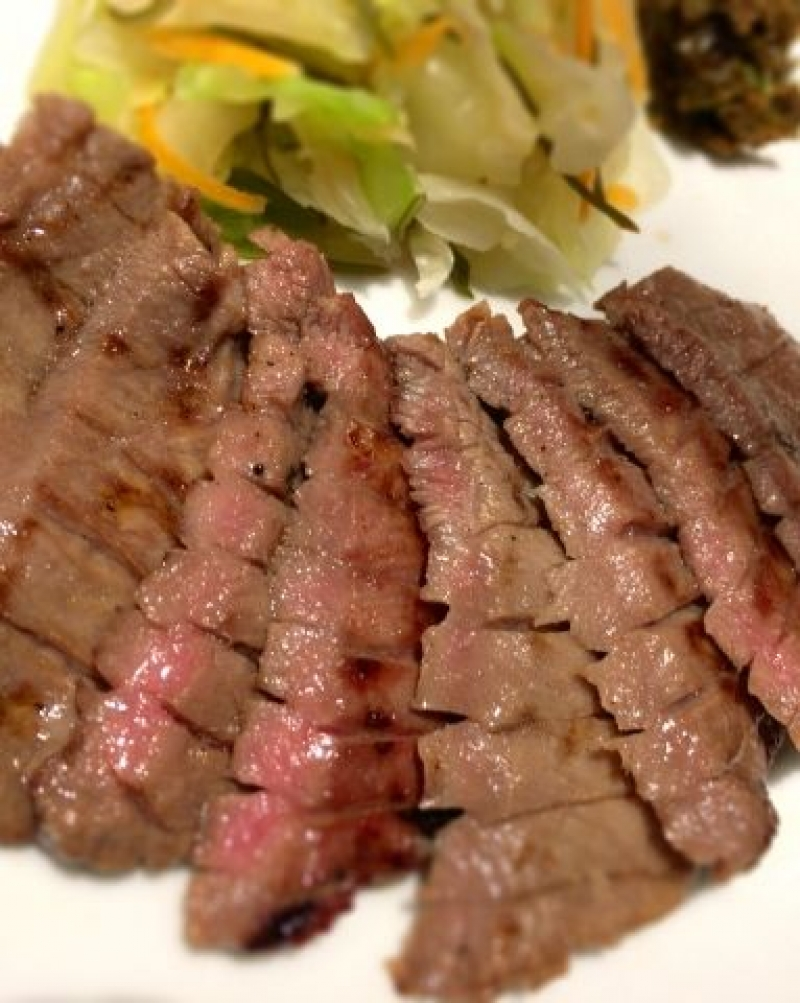 Gyutan (grilled beef tongue) is a specialty of Sendai.