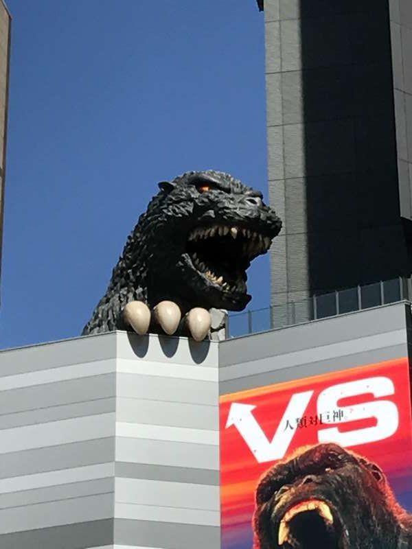 Gozilla at Shinjuku