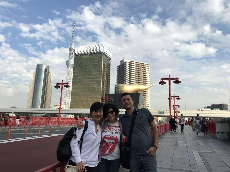 Skytree & Asahi Beer Tower