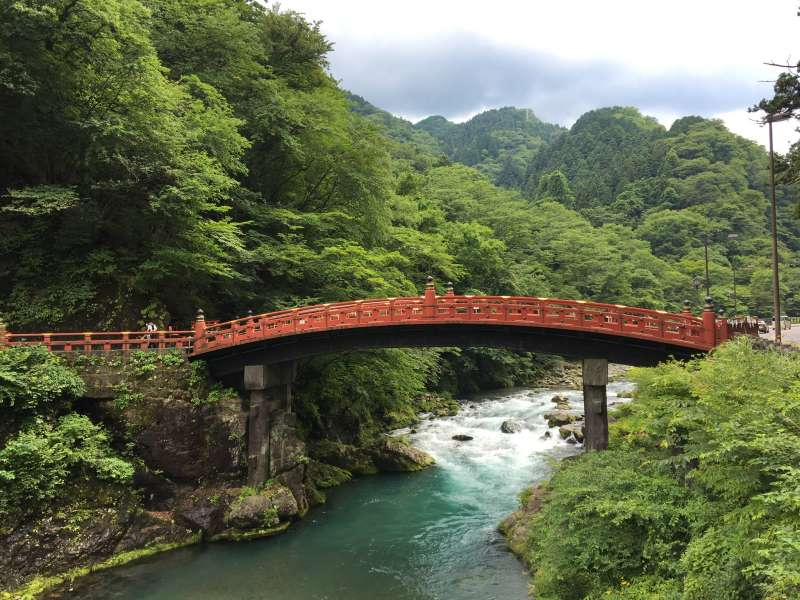 Sacred Shinkyo Bridge