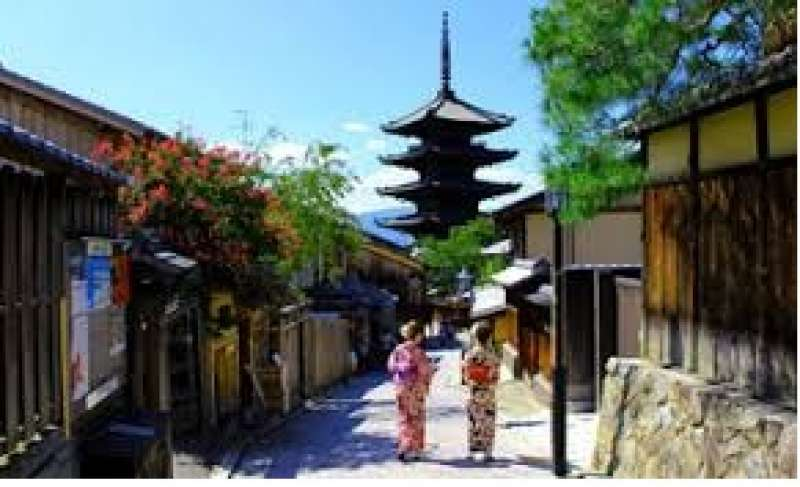 Around Gion, you can enjoy scenery and streets