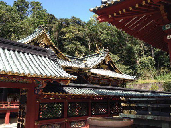 the Kuno Toshogu Shrine