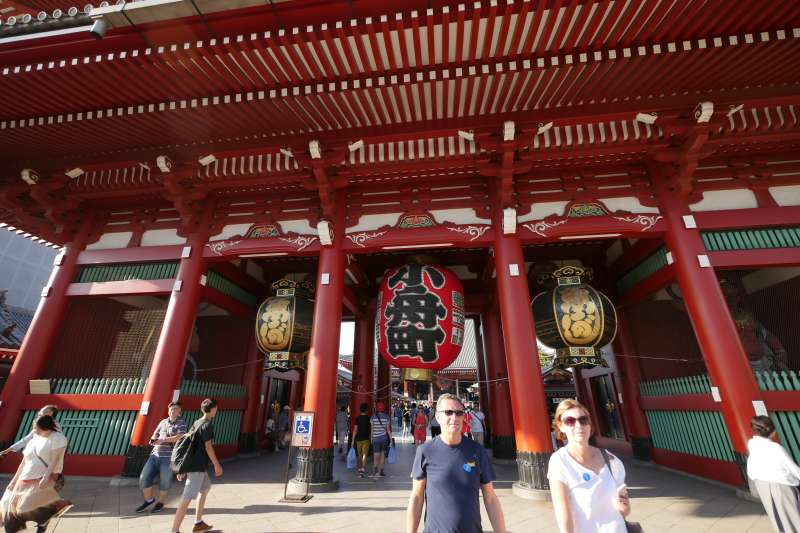Asakusa- Sensoji Temple (photo by Planetyze)