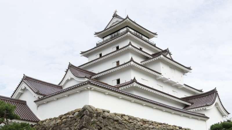 Tsuruga Castle(Wakamatsu Castle)(Photo by Planetyze)