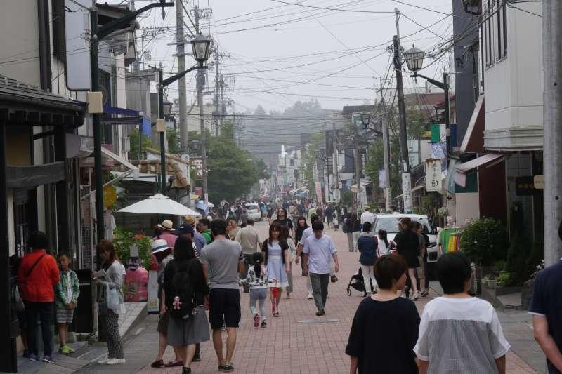 Kyu-Karuizawa Ginza Street (Photo by Planetyze )