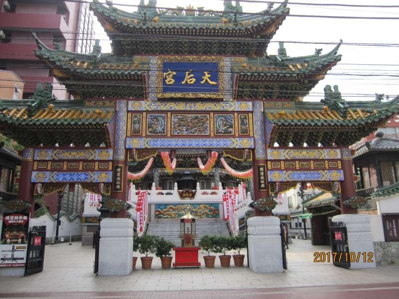 Maso Byo shrine in Chinatown:Chinese goddess Maso is  a goddess of voyage and fishing.