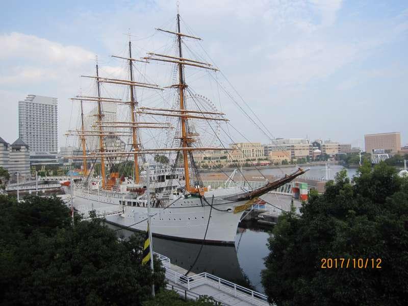 Training Ship Nippon-Maru: Harbored next to Landmark Tour.